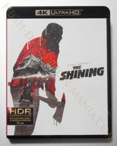 シャイニング ( 北米公開版 ) 4K-UHDパッケージ表面