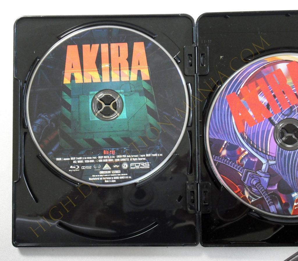 AKIRA 4KリマスターBlu-rayディスク