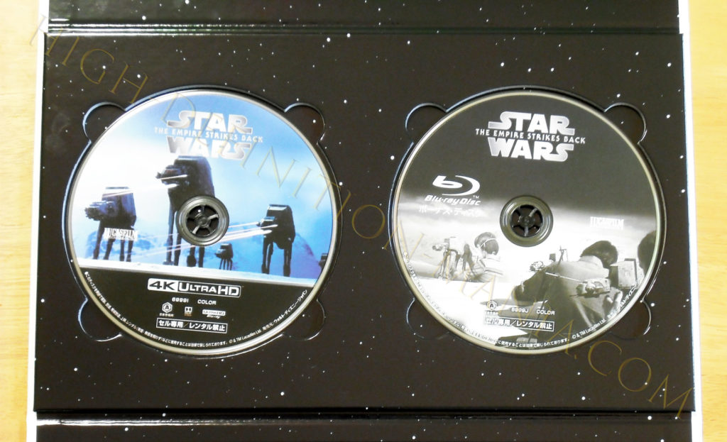 スター・ウォーズ 帝国の逆襲 4Kディスク