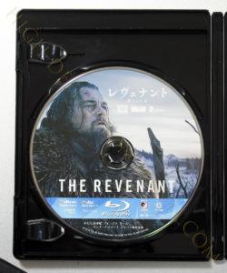 レヴェナント蘇りし者Blu-rayディスク