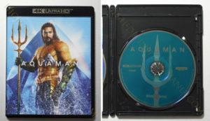 輸入盤アクアマン4K-UHDディスク