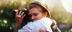 レイと抱き合うレイア