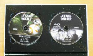 スター・ウォーズ フォースの覚醒 4Kディスク