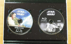 スター・ウォーズ 最後のジェダイ 4Kディスク